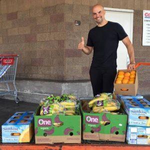 chris and fruit